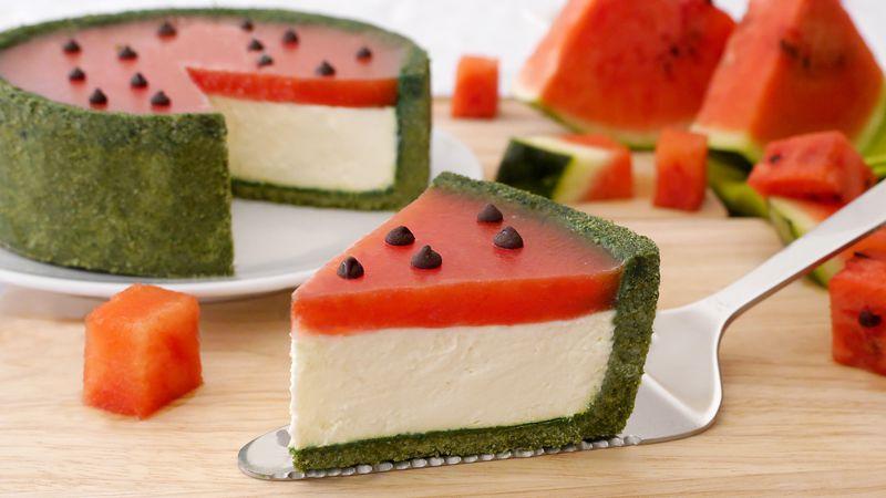 Cheesecake anguria - Ricette Bimby