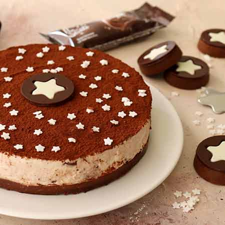Cheesecake Biscotti Crema Pan di Stelle