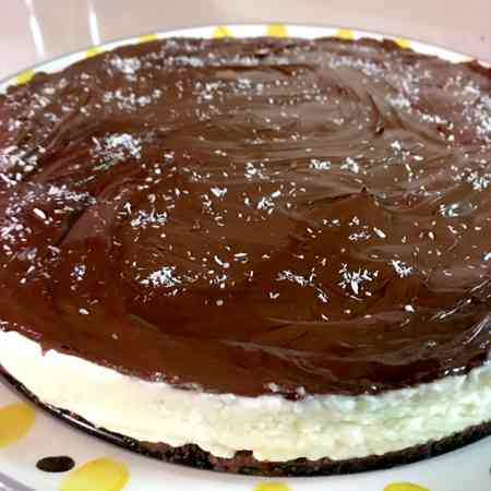 Cheesecake Bounty senza gelatina