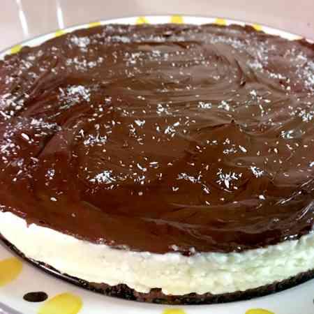 Cheesecake Bounty senza gelatina