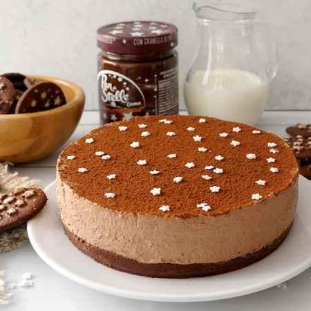 Cheesecake con crema Pan di Stelle