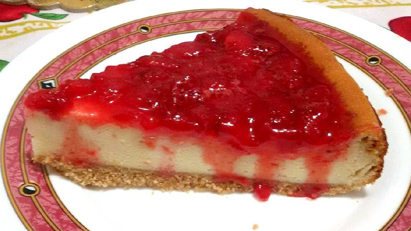 Cheesecake fragole e mascarpone