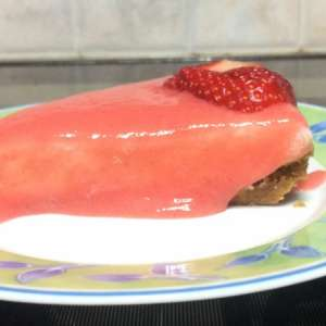 Cheesecake fresca alle fragole