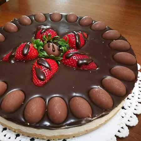 Cheesecake mascarpone e cioccolato fondente