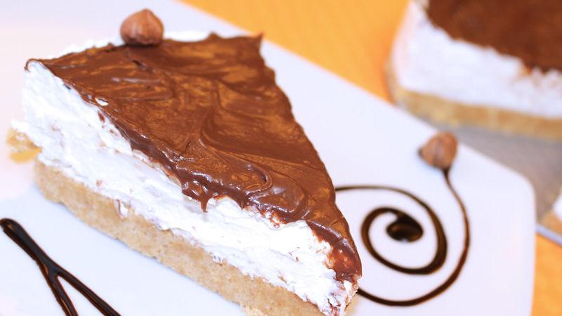 Cheesecake mascarpone ricotta e cioccolato