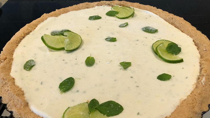Cheesecake mojito con ricotta