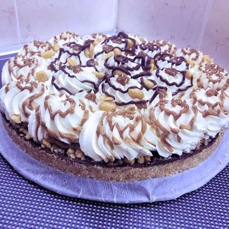 Cheesecake Nutella e arachidi