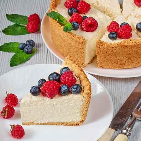 Käsekuchen cheesecake quark