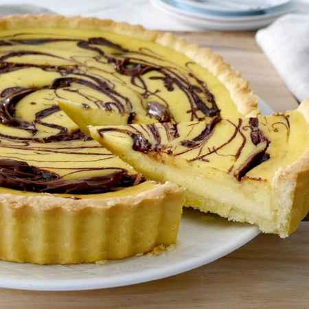 Cheesecake ricotta, mandorle e Nutella