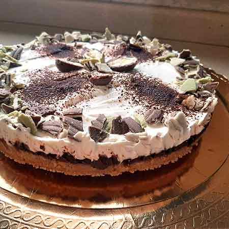 Cheesecake ricotta e panna