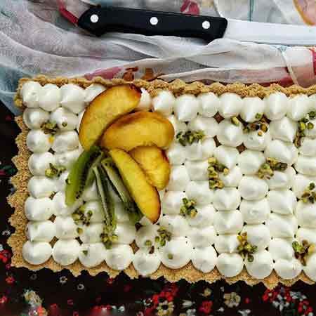 Cheesecake senza lattosio alla frutta