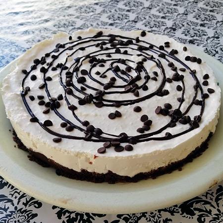 Cheesecake yogurt e cocco