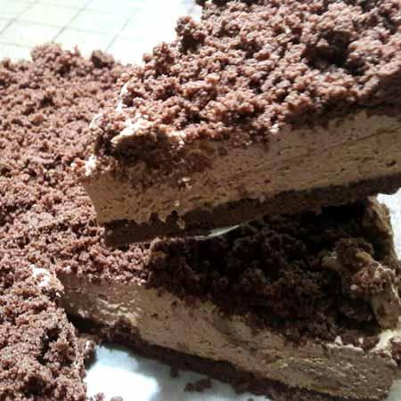 Cheseecake cioccolato e burro di arachidi