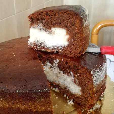 Torta cacao e cocco
