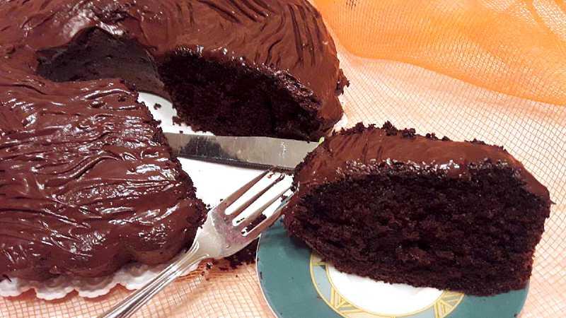 Ciambella al cioccolato soffice