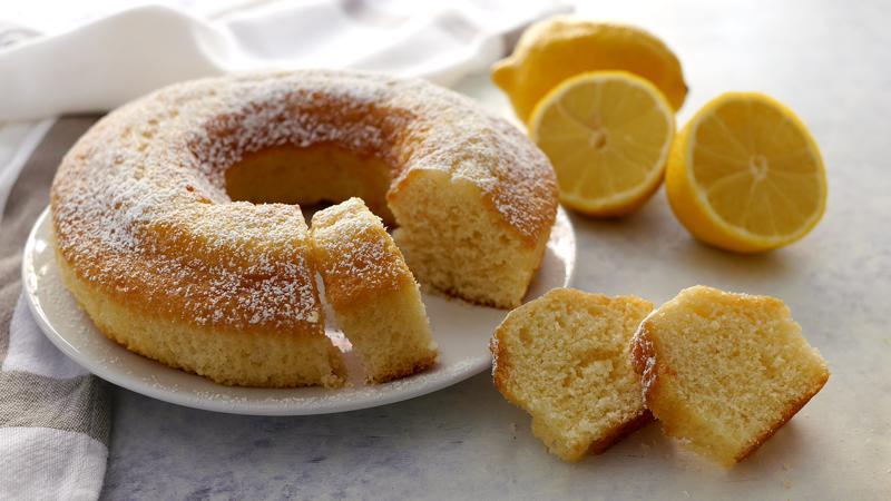 Ciambella al limone semplice