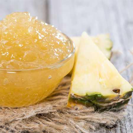 Confettura di ananas e zenzero