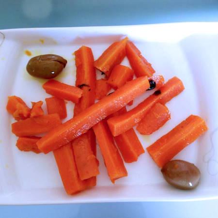 Contorno carote e olive