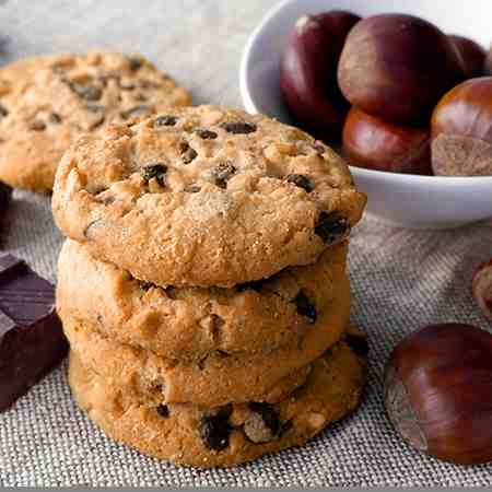 Cookies alle castagne
