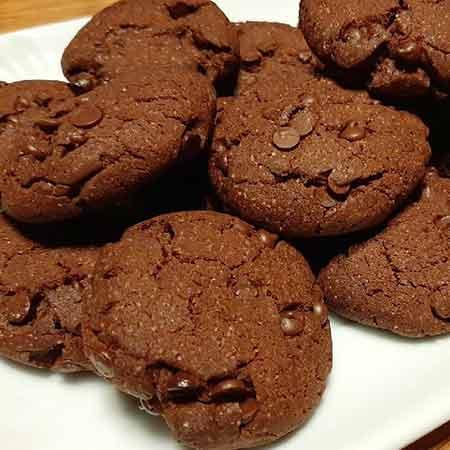 Cookies vegan al cioccolato
