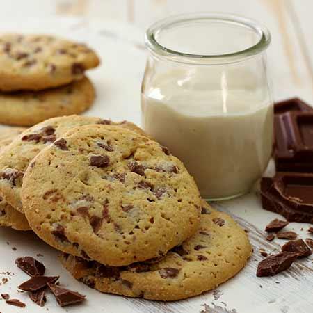 Cookies yogurt e cioccolato