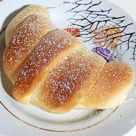 Cornetti di pasta brioche