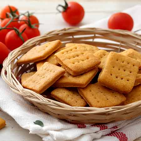 Cracker al pomodoro