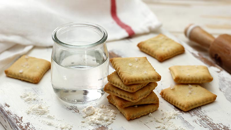 Cracker all'acqua
