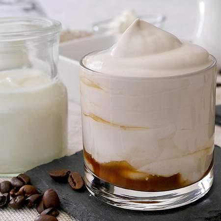 Crema caffè allo yogurt