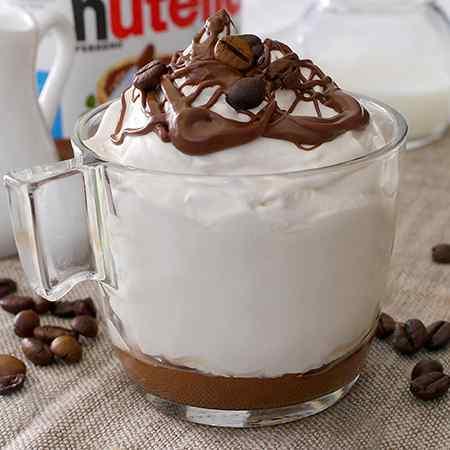 Crema caffè con Nutella