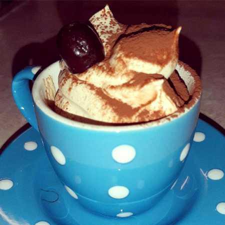 Crema caffè con panna veloce
