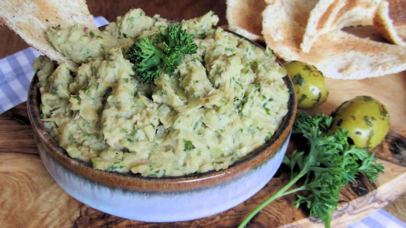 Crema di olive e carciofi