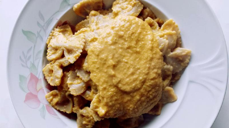 Crema di zucchine e tonno