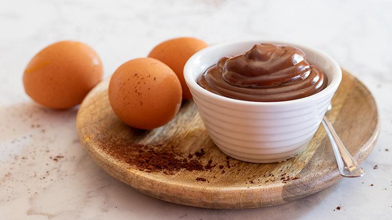 Crema leggera al cacao