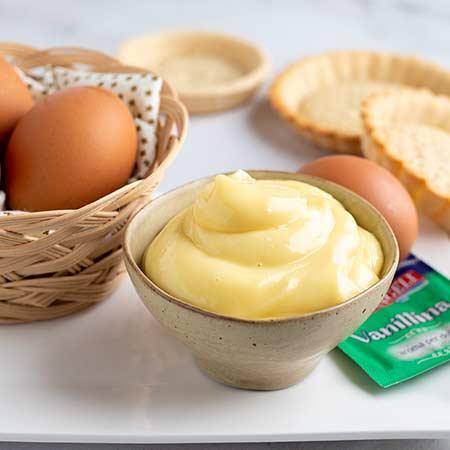 Crema pasticcera alla vaniglia