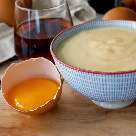 Crema pasticcera allo zabaione
