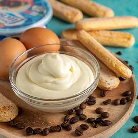Crema per tiramisù con uova pastorizzate