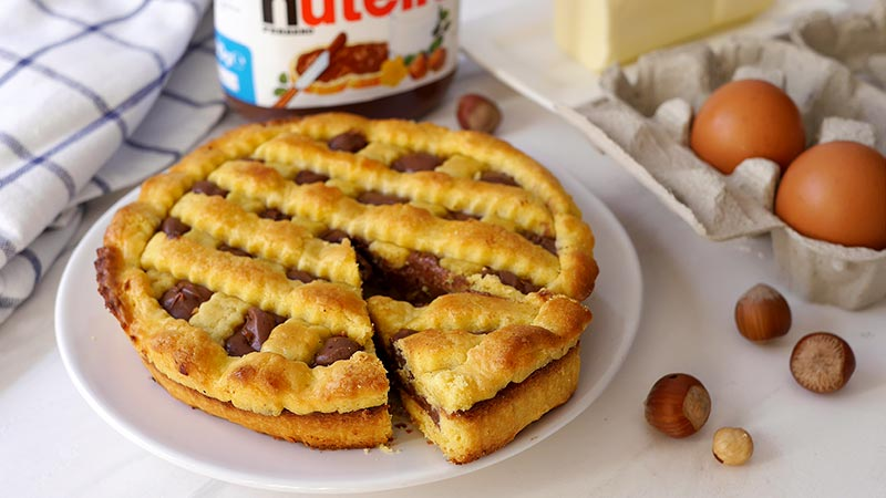 Ricette bimby crostata nutella