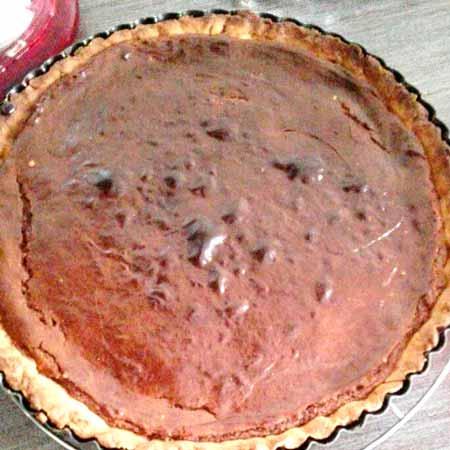 Crostata con crema di Nutella