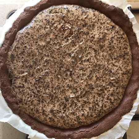 Crostata di ricotta e cacao