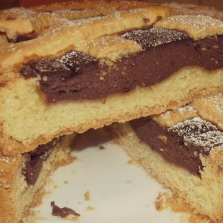 Crostata ricotta e cacao