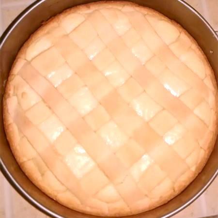 Crostata ricotta e cioccolato bianco