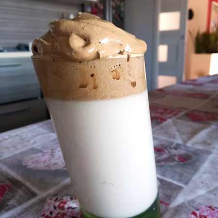 Dalgona caffè