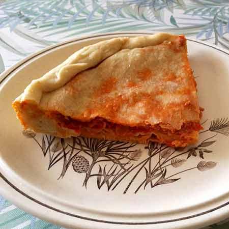 Empanada galiziana al tonno