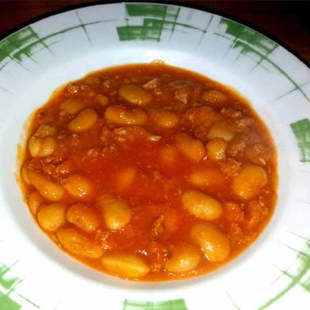 Fagioli bianchi in salsa