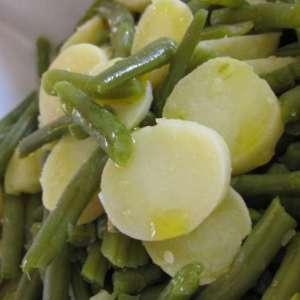 Fagiolini e patate a Varoma