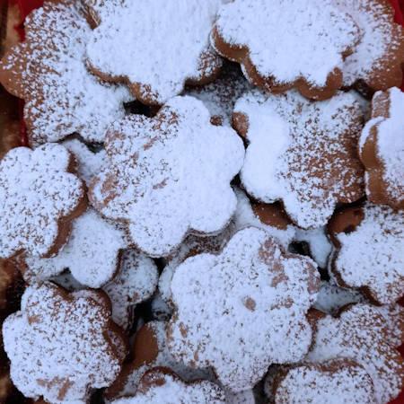 Fiorellini al cacao al profumo d'arancia