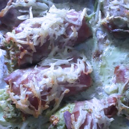 Fiori di zucca in crosta di patate