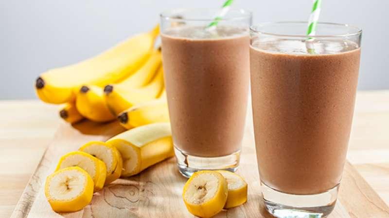 Frappè cioccolato e banana