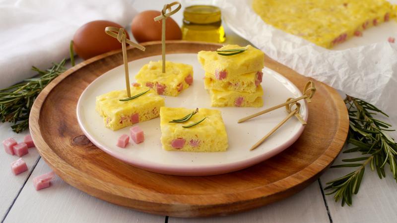 Ricetta Omelette Bimby Tm5.Frittata Prosciutto E Mozzarella Ricette Bimby